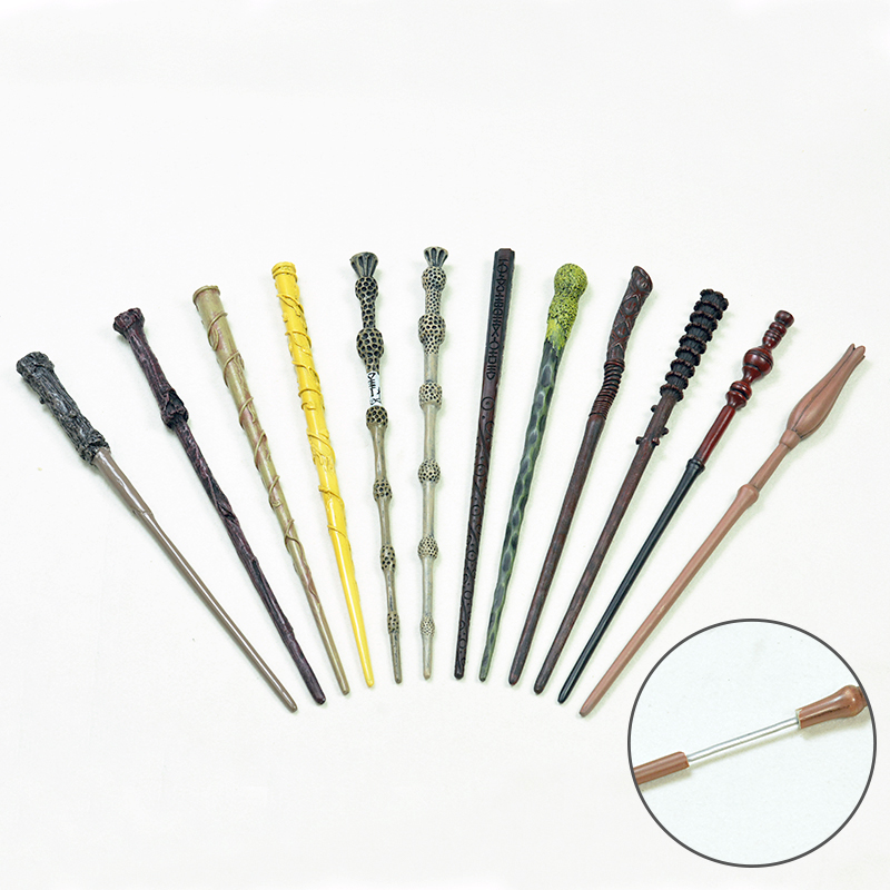 Magic Wand  Potter Hermione Wand Colsplay Iron Core Surprise Professional Magic Toys For Children