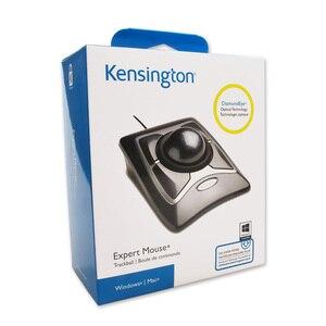 Image 5 - Kensington המקורי מומחה Trackball USB עכבר Wired אופטי עם גלילה טבעת גדול כדור עבור AutoCAD/PS עם אריזה קמעונאית