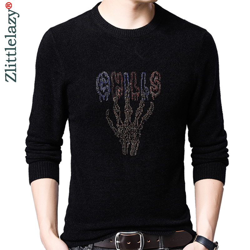 2019 Brand New Casual Thin Striped Knitted Pull Sweater Men Wear Jersey Dress Luxury Pullover Mens Sweaters Male Fashions 93052