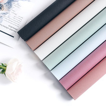 10pcs Solid Color Flower Wrapping Paper Waterproof Flowers Wedding Shop Gift Decoration
