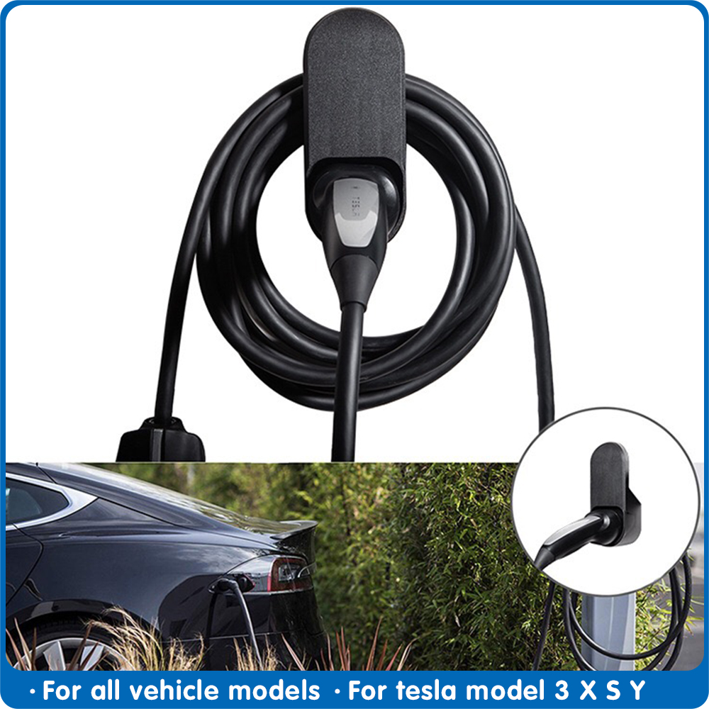 FDIK For Tesla Model 3 S X Y Car Charging Cable Organizer  Wall Mount Connector Bracket Charger Holder Model3 Accessories