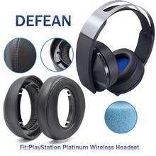 Defean החלפת כרית אוזן רפידות עבור SONY פלייסטיישן PS4 פלטינה אלחוטי אוזניות דגם: CECHYA 0090