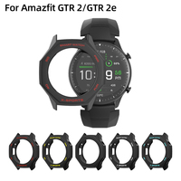 SIKAI 2020 New For Amazfit GTR2 Case Smart Watch Protector for Xiaomi Huami GTR 2e Smartwatch Cover Charger Strap Accessories