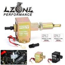 Bomba de combustible en línea electrónica Universal, 12V, 4 7PSI, alta presión, 90LPH, Gas, gasolina, Diesel, Compatible con 40104, 40106, 40107, P502