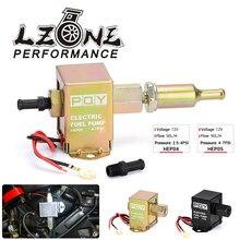 Bomba de combustible en línea electrónica Universal, 12V, 4-7PSI, alta presión, 90LPH, Gas, gasolina, Diesel, Compatible con 40104, 40106, 40107, P502