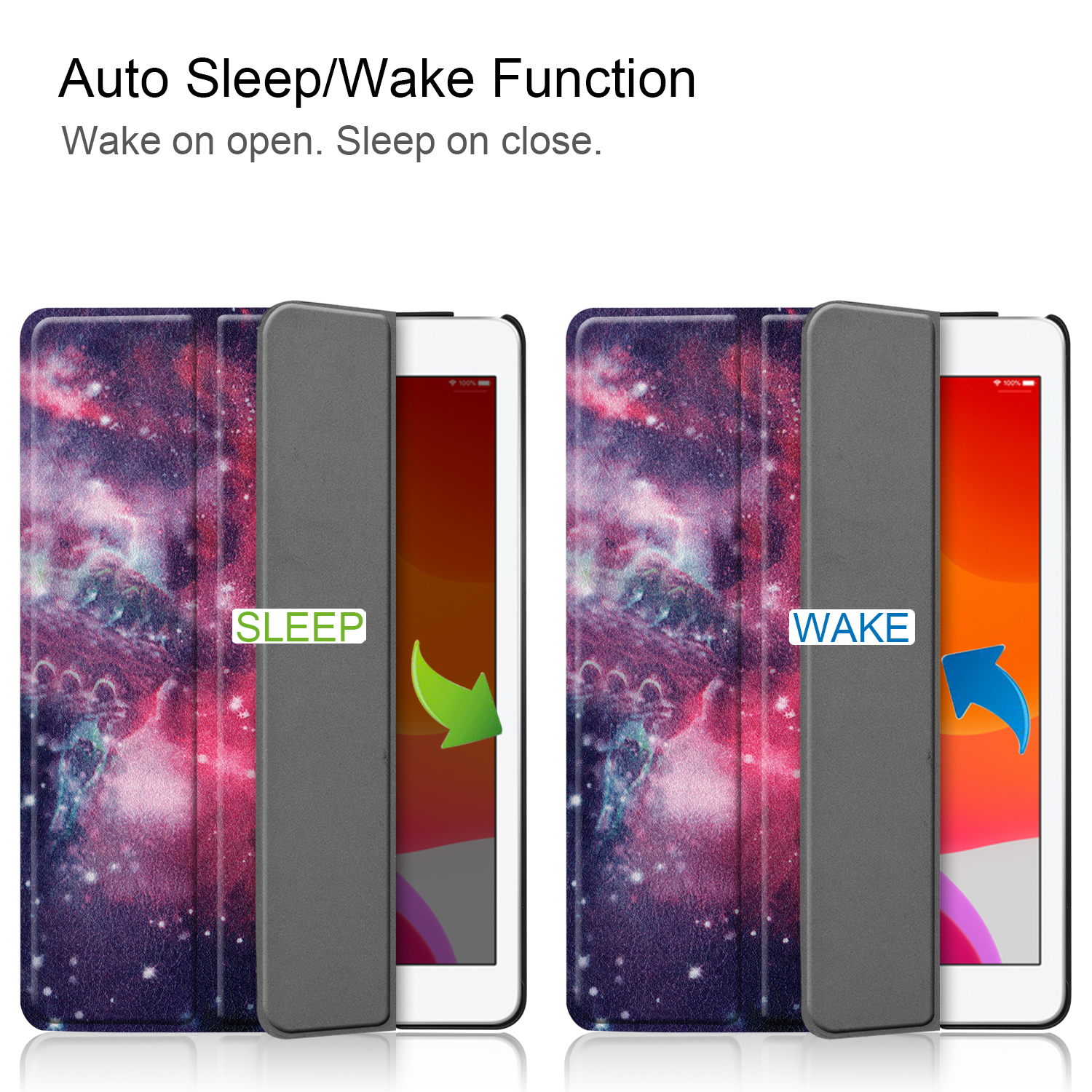 A2428/a2429 Case Magnetic Apple Smart-Cover Sleep 8-8th-Generation for iPad/8th/Cas iPad