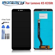 ЖК-экран 5,7 дюйма для Lenovo K350T K5 + цифровой преобразователь сенсорной панели в сборе для Lenovo K350T K5