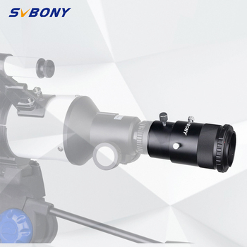 "SVBONY SV112 1.25"" Deluxe Variable Eyepiece Adapter Projection Kit for Professional Astronomy Telescopes  for Nikon Camera F9183"