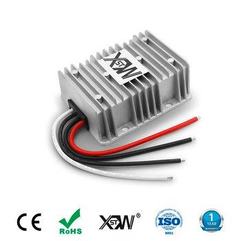 цена на Aluminum dc to dc 12v to 15v 19v 21A 25A 30A step up boost power supply 15v 19v dc voltage regulator