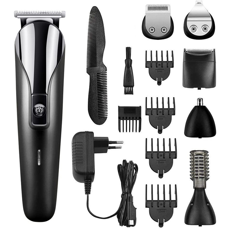 Professional Hair Trimmer For Men Hair Clipper Electric Beard Ear Nose Hair Moustache Hair Cutting Machine Cordless Corded
