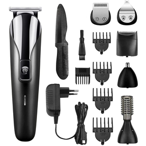 Professional Hair Trimmer for men Hair clipper Electric Beard Ear Nose Hair Moustache Hair cutting Machine cordless corded(China)
