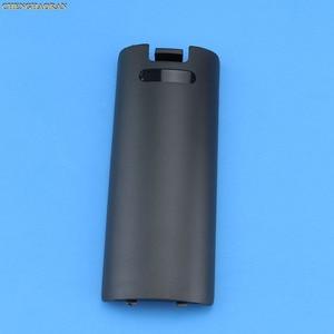 Image 4 - 1PC contrôleur de jeu sans fil boîtier de batterie couverture arrière pour Nintend Wii télécommande manette poignée batterie étuis couvre