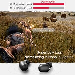 Image 4 - A6X TWS Bluetooth אוזניות HD סטריאו אלחוטי אוזניות משחקי אוזניות בס אוזניות הפחתת רעש k Upods Gt1 פרו