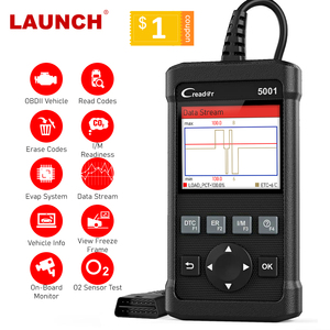 Image 1 - LAUNCH x431 CR5001 OBD2 Code Reader Scanner ODB2 Car Diagnostic Tool Free Update Automotive Scanner OBDII Turn Off Engine Light