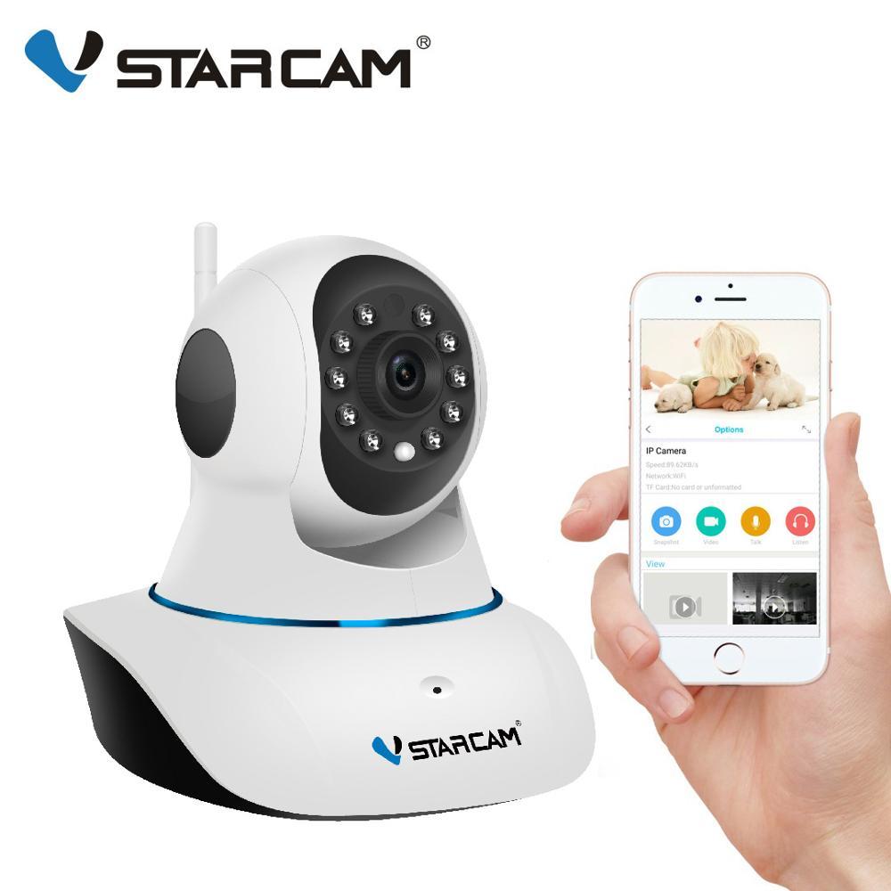 Оригинальная камера видеонаблюдения Vstarcam, 720P, IP, C7825WIP, Wi-Fi, инфракрасная камера безопасности с ночным видением, PTZ App, мобильное аудио