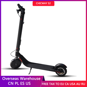 CHICWAY S2 Mini Novice Electric Scooter Two-Wheel Adult Child E-scooter Transportation Portable Travel Tool EU US InStock 1