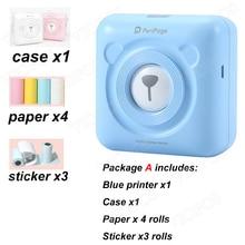 Mini Stampante Fotografica Tasca Per Il telefono Mobile Android e iOS
