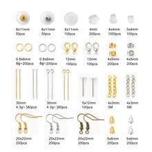 Produção de joias, acessórios de ferramentas de pular aberto/tampas de contas/anel de pular/pinos/braçadeiras/correntes estendidas/ganchos de brincos/pinos de olho
