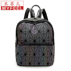 Ночной светильник, рюкзак с геометрическим рисунком, женская сумка, 2019, Летний Новый Стиль, японский стиль, складной, маленький, треугольный,...