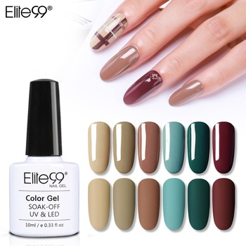Elite99 10ml Matt Reine Farbe UV Gel Polish Soak Off Gel Lack Nagel Kunst Gel Nagellack Farbe GelLak maniküre Matte Top Mantel