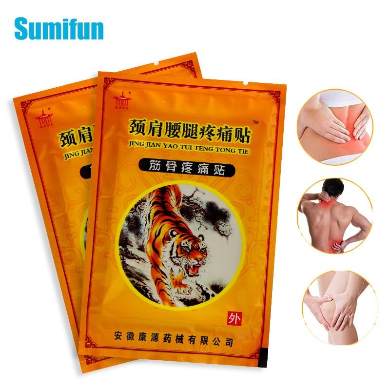 8pcs Tiger Balm Plaster Back Pain Patches Shoulder Rheumatoid Arthritis Joint Stickers Muscle Rub Medical Plaster Body Massage