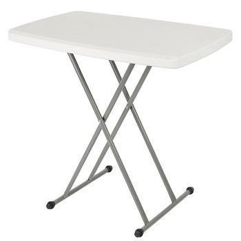 Składany stół domowy stół prosty stół przenośny stół do układania na zewnątrz prostokątny dormitorium składany stół HWC tanie i dobre opinie CN (pochodzenie) Z tworzywa sztucznego Europa i Ameryka samodzielnie Rectangle 76*50*74cm Stół ogrodowy meble zewnętrzne