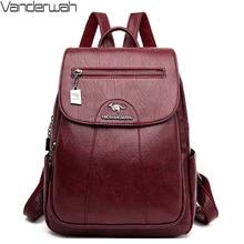 Designer luxury Backpack High Quality Genuine Leather School Bags for Teenager Girls Travel Backpack Bagpack Mochila Mujer 2020