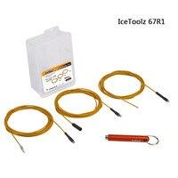 IceToolz 67R1 MTB 자전거 도로 용 내부 라우팅 도구 자전거 프레임 시프트 유압 와이어 시프터 내부 케이블 가이드 설치 도구