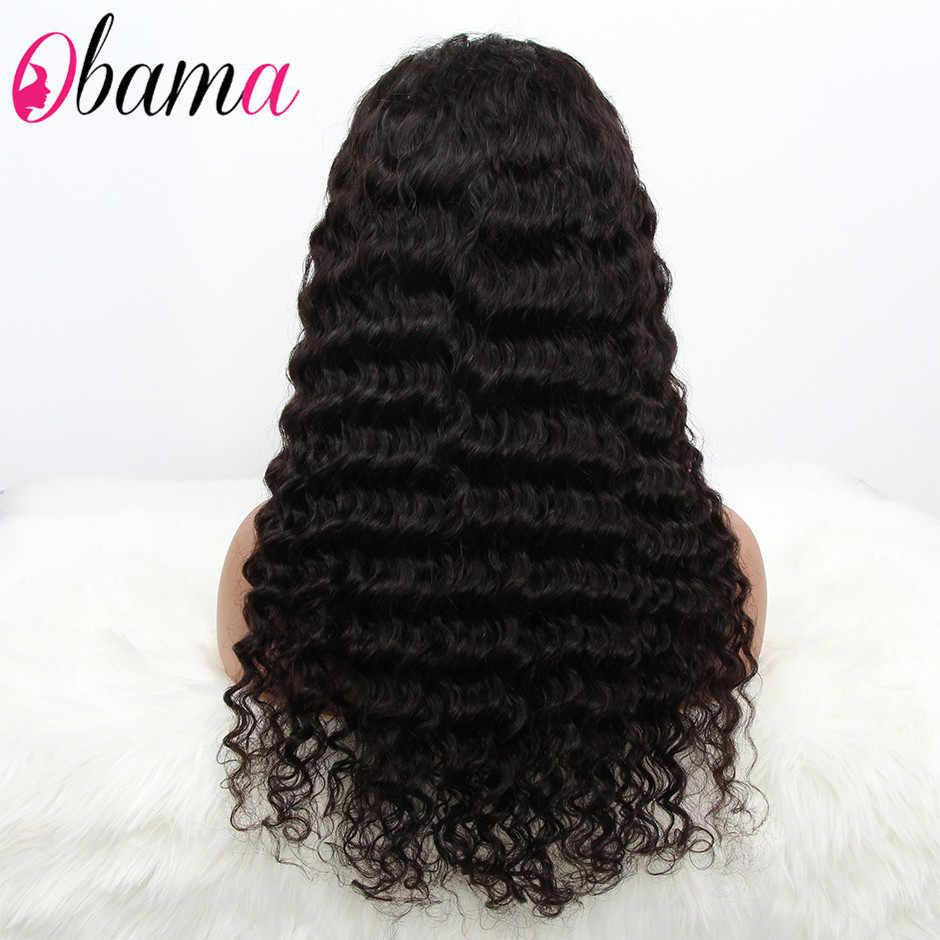 360 peruca frontal do laço da onda profunda do brazlian peruca dianteira do laço pré arrancado perucas do laço do cabelo humano com cabelo do bebê 8-28 polegadas perucas