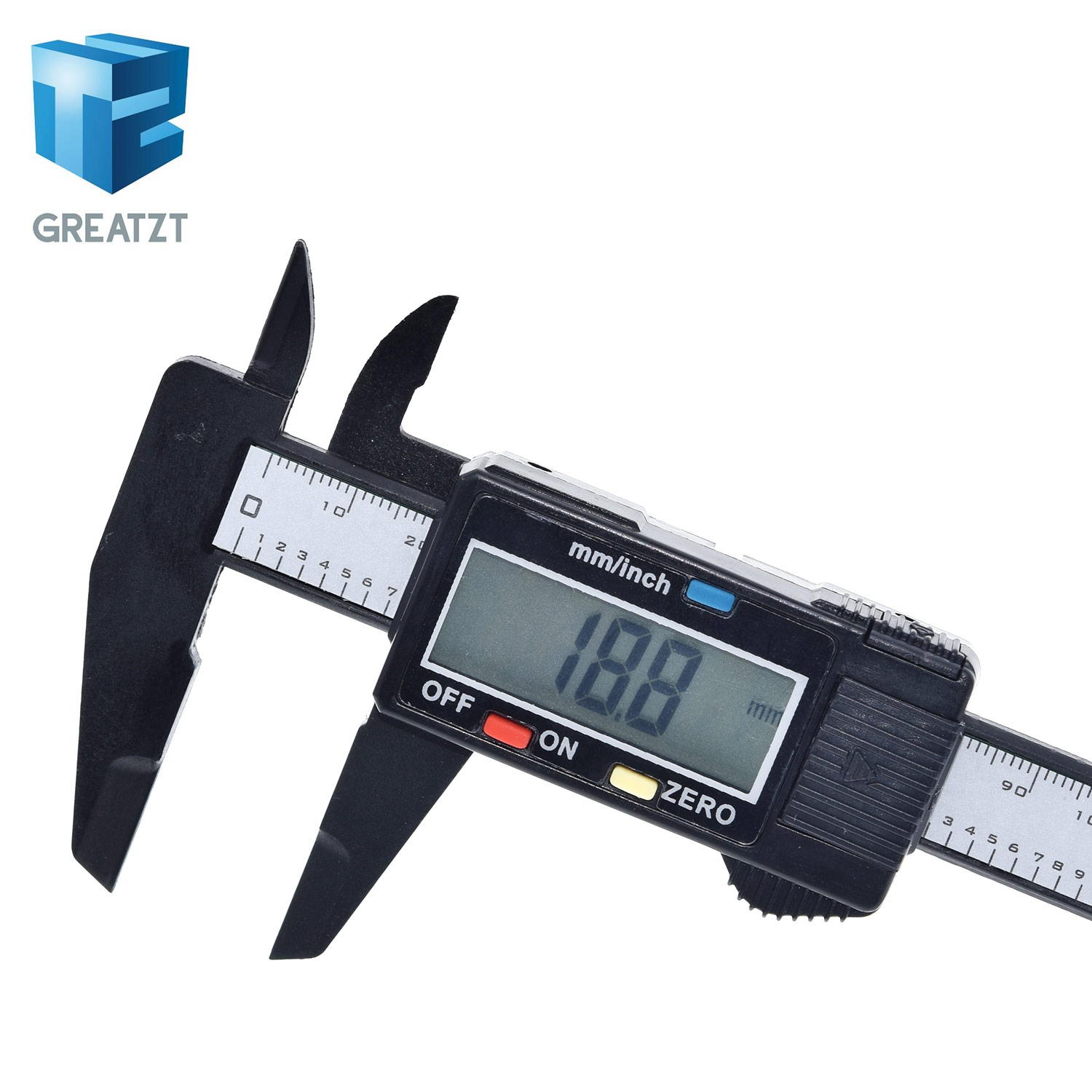 "150mm 6/"" LCD Digital Electronic Vernier Caliper Gauge Micrometer Measuring Tool"