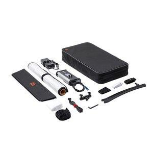 Image 5 - Falconeyes conduziu a lâmpada de pano rolável quadrada flexível portátil 150 do painel de iluminação de vídeo RX 24TDX w do estúdio com softbox