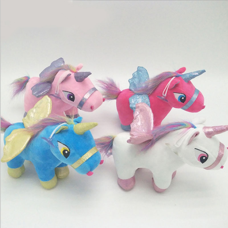 13 20cm new dream cute cartoon Tianma styling unicorn plush doll plush pendant gift plush animal boy girl Christmas gift WJ082 in Movies TV from Toys Hobbies