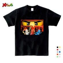 Детская одежда для маленьких детей футболки Детские Забавные