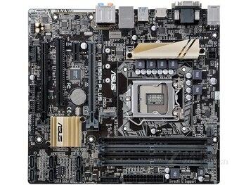 Original Used Desktop Motherboard Asus B150M-PLUS LGA 1151 DDR4 I3 I5 I7 CPU 64G Micro ATX board