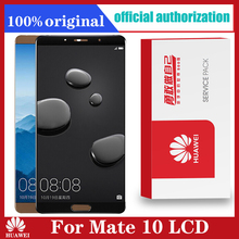 Original For Huawei Mate 10 LCD Touch Screen Glass Panel Replacement Parts Huawei MATE 10 Display Sensor Frame ALP L09 ALP L29