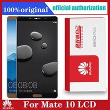 Originale per Huawei Mate 10 LCD Touch Screen parti di ricambio del pannello di vetro Huawei MATE 10 Display Sensor Frame ALP L09 L29
