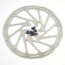 Высокое качество MTB/дорожный мотоцикл дисковый тормоз/циклокросс велосипед тормозного диска, 44 мм 6-болт, ось 160 мм 180 дисковый тормоз велосипед тормозной ротор для велосипеда, с помощью винтов