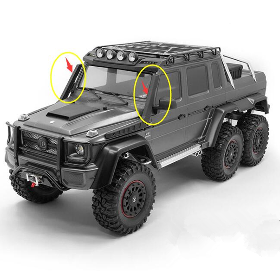 Rc <font><b>Crawler</b></font> Cars <font><b>Body</b></font> Double Wading Model For <font><b>1/10</b></font> <font><b>Scale</b></font> Remote Control Toys TRX4 TRX-6 Benzz 4X4 6X6 G63 G500 Decoration Parts image
