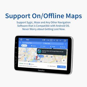 """Image 5 - Dasaita 2 Din Android 10 универсальное радио GPS навигация 10,2 """"IPS мульти сенсорный экран 1080P видео автомобильный стерео мультимедийная система"""