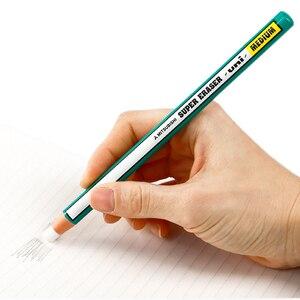 Image 5 - 10 Pieces Mitsubishi Uni Pencil Type Eraser Super Eraser Medium Ek 100 School & Office Supplies