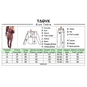 Image 5 - TAOVK Office Lady Pant Suits Womens Costume Belt Blazer top and pencil pants two piece outfits femme ensemble Pantsuit Spring