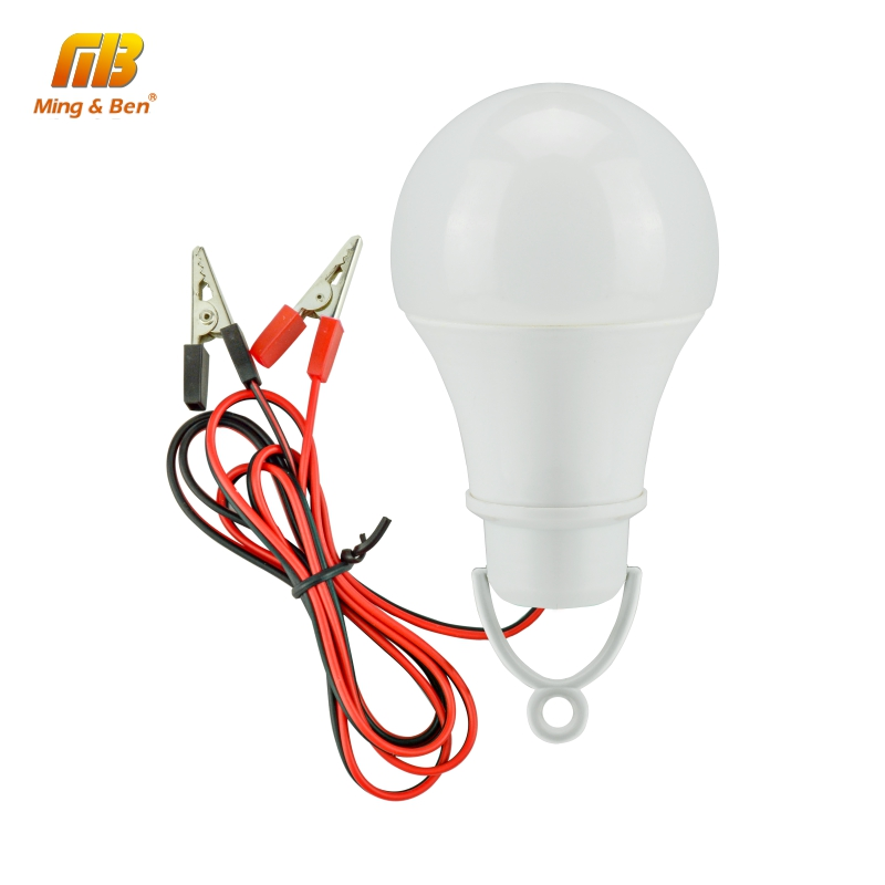 LED Emergency Light DC12V LED Lamp 7W 9W 12W 15W White Low Voltage Outdoor Emergency LED Bulb For Camping Inspection Lighting