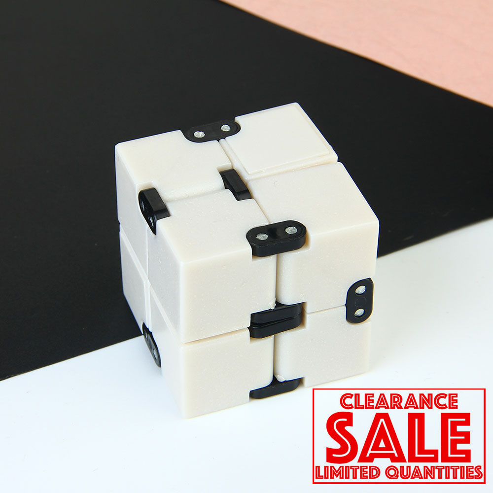 Clearance Infinity Cube Toy Antistress Infinite Magic Flip Cubic Puzzle Stress Reliever Christmas Gifts For Kids Adults