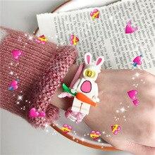 Cartoon Bracelet Lovely Woven Gift Unicorn Toys Dressing robot Accessories Kid Christmas gift