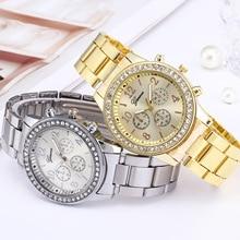 Genève classique luxe strass montre femmes montres mode dames horloge Reloj Mujer Relogio Feminino Z20