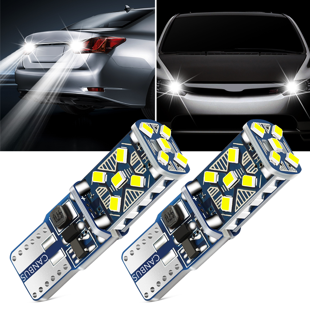 2 шт. T10 W5W супер яркий светодиодный парковочные фары автомобиля для Daewoo Espero Nexia Matiz Lanos