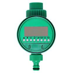 Display lcd automático eletrônico temporizador de água controlador de irrigação do jardim válvula solenóide inteligência digital sistema rega
