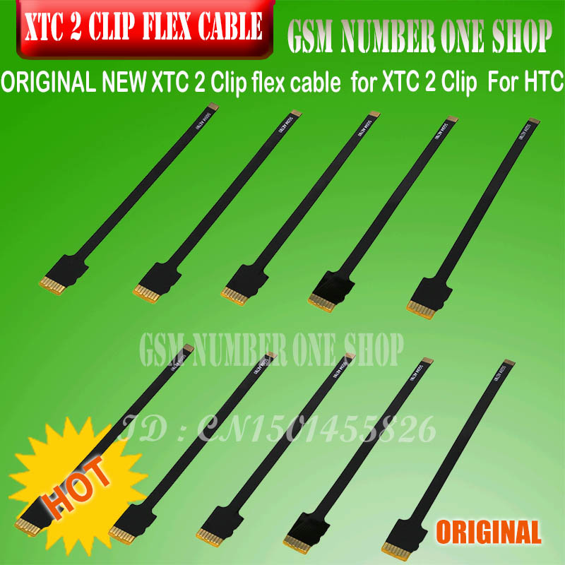 ORIGINAL 10 Pcs / Set  XTC 2 Clip Flex Cable XTC CLIP 2 Flex Kit / 3 In 1 Flex Cable For XTC 2 Clip  For HTC+ FREE SHIPPING