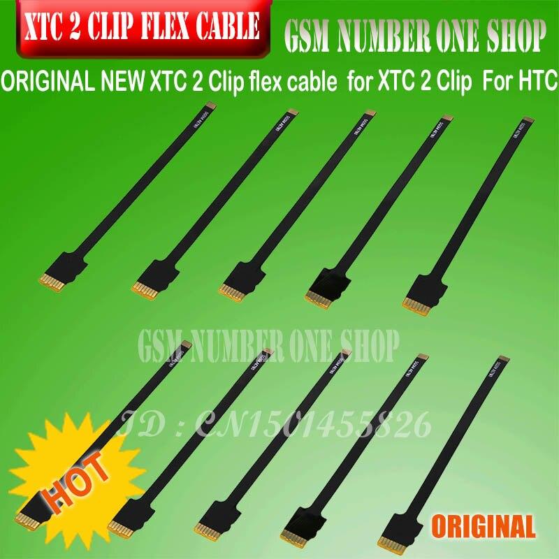 ORIGINAL 10 Pcs / Set  XTC 2 Clip Flex Cable XTC CLIP 2 Flex Kit / 3 In 1 Flex Cable For XTC 2 Clip  For HTC+ FREE SHIPPING