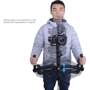 Image 5 - DH04 PRO 3 axis Gimbal stabilizer Spring Dual Handle 4.5kg bear with strap for RONIN S/SC WEEBILL S&LAB CRANE 3/3S Moza Air 2